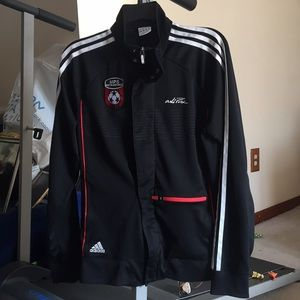 Adidas Blk Mass Premier Soccer Athletic Jacket M